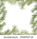 illustration with frame from... | Shutterstock .eps vector #294093710