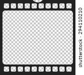 film strip  vector | Shutterstock .eps vector #294110210