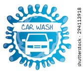 car wash design  vector... | Shutterstock .eps vector #294113918