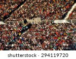 crowd of people at a football... | Shutterstock . vector #294119720