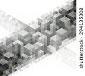 abstract modern geometric urban ... | Shutterstock . vector #294135308