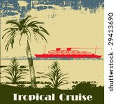 tropical cruise background | Shutterstock .eps vector #29413690