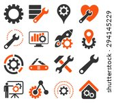 options and service tools icon... | Shutterstock .eps vector #294145229