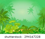 jungle | Shutterstock .eps vector #294167228
