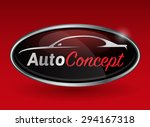 conceptual automotive vector... | Shutterstock .eps vector #294167318
