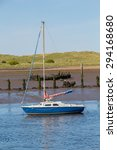 Small photo of Sailing Boat Amble Harbour