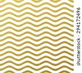 gold glittering wave background | Shutterstock .eps vector #294172496