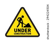 under construction website and... | Shutterstock .eps vector #294224504