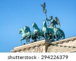 Brandenburg Gate  Blue Sky ...