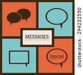 internet icon digital design ...   Shutterstock .eps vector #294232550