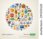 back to school background.... | Shutterstock .eps vector #294233120