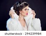 Winter Girl In Luxury Fashion...