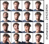 multiple expressions | Shutterstock . vector #294253904