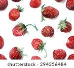 watercolor sketch  raspberry on ...   Shutterstock . vector #294256484