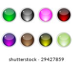 shiny web buttons different... | Shutterstock .eps vector #29427859