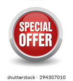 special offer | Shutterstock . vector #294307010