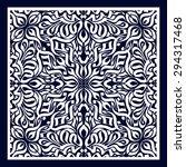 bandana print  calligraphic... | Shutterstock .eps vector #294317468
