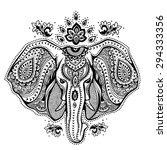 vintage graphic vector indian...   Shutterstock .eps vector #294333356