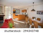 beautiful interior design of ... | Shutterstock . vector #294343748