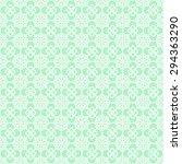 oriental asian net pattern with ... | Shutterstock .eps vector #294363290