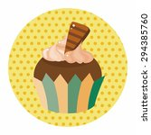 decorating cake theme elements | Shutterstock .eps vector #294385760