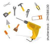 tools digital design  vector...