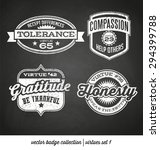 badge label collection with... | Shutterstock .eps vector #294399788
