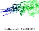 abstract colorful smoke on... | Shutterstock . vector #294405053