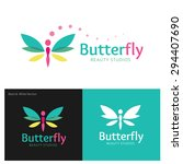 Butterfly Vector Logo Design...
