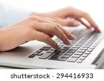 computer  computer keyboard ... | Shutterstock . vector #294416933