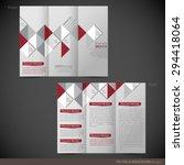 tri folder brochure   leaflet...   Shutterstock .eps vector #294418064