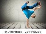 breakdancing  hip hop ... | Shutterstock . vector #294440219