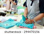 portrait of labeling process... | Shutterstock . vector #294470156