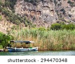 Pleasure Boat With Tourists In...