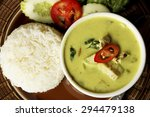 Thai Cuisine  Green Curry With...