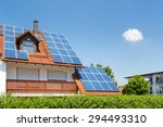 House With Garden And Solar...