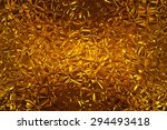 Abstract Fractal Gold...