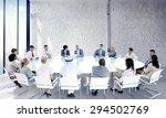 business people team teamwork... | Shutterstock . vector #294502769