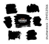 grunge black background  vector | Shutterstock .eps vector #294513566