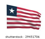 flag of liberia | Shutterstock . vector #29451706