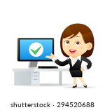 vector illustration   cartoon... | Shutterstock .eps vector #294520688