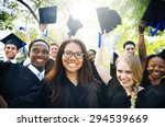 graduation student commencement ...   Shutterstock . vector #294539669