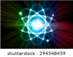 dark yellow blue red color... | Shutterstock .eps vector #294548459