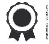 black blank medal  ribbon ...