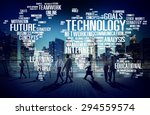 technology networking... | Shutterstock . vector #294559574