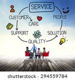 customer satisfaction service... | Shutterstock . vector #294559784