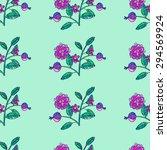 fairy garden. hand drawn... | Shutterstock .eps vector #294569924
