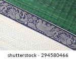 thai style bamboo weaved saucer    Shutterstock . vector #294580466