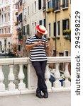 venice  italy   on may 3  2015. ... | Shutterstock . vector #294598229