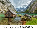 Boat Dock Hangar On Obersee...